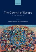 Cover for The Council of Europe - 9780199672523