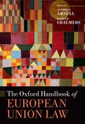 Cover for The Oxford Handbook of European Union Law