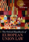 Cover for The Oxford Handbook of European Union Law - 9780199672653