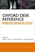 Cover for Oxford Desk Reference: Endocrinology