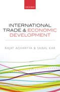Cover for International Trade and Economic Development