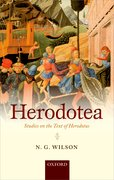 Cover for Herodotea