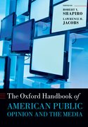 Cover for The Oxford Handbook of American Public Opinion and the Media