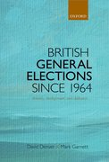 Cover for British General Elections Since 1964