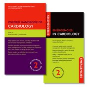 Cover for Oxford Handbook of Cardiology and Emergencies in Cardiology Pack