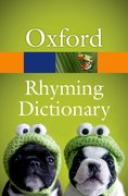 Cover for New Oxford Rhyming Dictionary