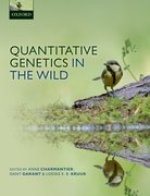 Cover for Quantitative Genetics in the Wild