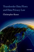 Cover for Transborder Data Flows and Data Privacy Law