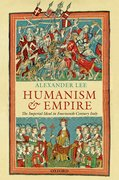 Cover for Humanism and Empire
