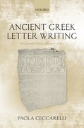 Cover for Ancient Greek Letter Writing