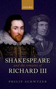 Cover for Shakespeare and the Remains of Richard III