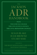 Cover for The Jackson ADR Handbook