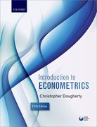 Cover for Introduction to Econometrics