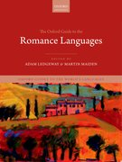 Cover for The Oxford Guide to the Romance Languages