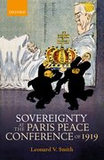 Cover for Sovereignty at the Paris Peace Conference of 1919 - 9780199677177