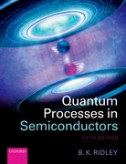 Cover for Quantum Processes in Semiconductors