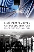 Cover for New Perspectives on Public Services