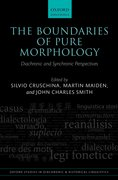 Cover for The Boundaries of Pure Morphology