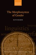 Cover for The Morphosyntax of Gender