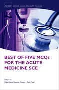 Cover for Best of Five MCQs for the Acute Medicine SCE