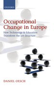 Cover for Occupational Change in Europe