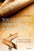 Cover for Tocqueville, Democracy, and Religion