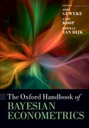 Cover for The Oxford Handbook of Bayesian Econometrics