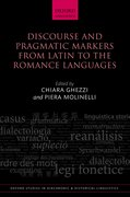 Cover for Discourse and Pragmatic Markers from Latin to the Romance Languages