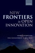 Cover for New Frontiers in Open Innovation