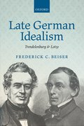 Cover for Late German Idealism