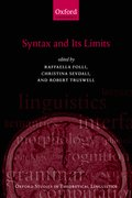 Cover for Syntax and its Limits