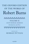 Cover for The Oxford Edition of the Works of Robert Burns