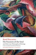 Cover for The Passions of the Soul and Other Late Philosophical Writings