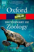 Cover for A Dictionary of Zoology