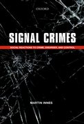 Cover for Signal Crimes - 9780199684472