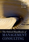 Cover for The Oxford Handbook of Management Consulting