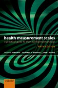 Cover for Health Measurement Scales