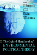 Cover for The Oxford Handbook of Environmental Political Theory