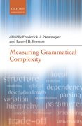 Cover for Measuring Grammatical Complexity