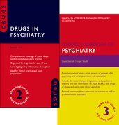 Cover for Oxford Handbook of Psychiatry 3e and Drugs in Psychiatry 2e Pack