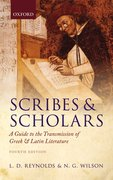 Cover for Scribes and Scholars