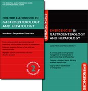 Cover for Oxford Handbook of Gastroenterology and Hepatology and Emergencies in Gastroenterology and Hepatology Pack