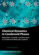 Cover for Chemical Dynamics in Condensed Phases