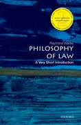 Cover for Philosophy of Law: A Very Short Introduction