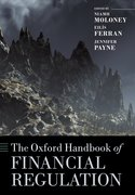 Cover for The Oxford Handbook of Financial Regulation