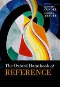 Cover for The Oxford Handbook of Reference