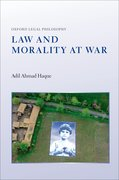 Cover for Law and Morality at War - 9780199687398