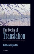 Cover for The Poetry of Translation