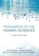 Cover for Population in the Human Sciences