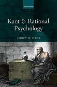 Cover for Kant and Rational Psychology